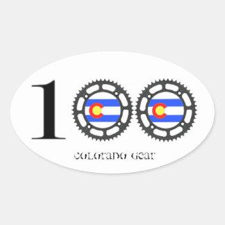 Colorado Century Sticker