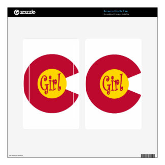 Colorado CG Decal For Kindle Fire