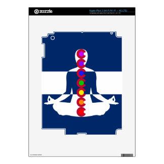 Colorado Chakra Meditation Shop Skins For iPad 3