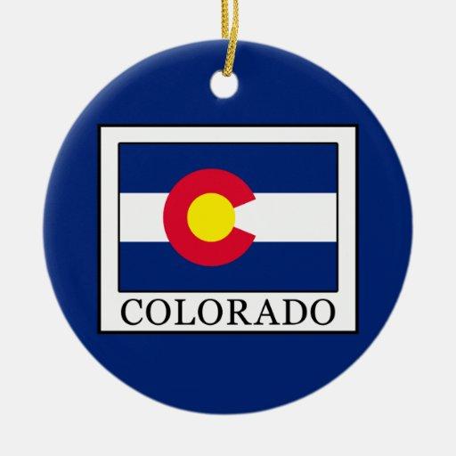 Colorado christmas ornament zazzle