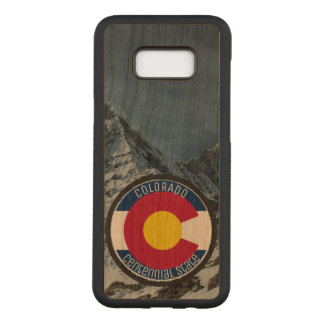 Colorado Circular Flag Carved Samsung Galaxy S8  Case