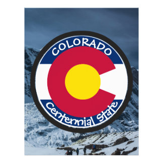 Colorado Circular Flag Flyer