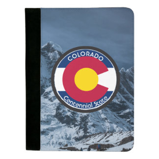 Colorado Circular Flag Padfolio