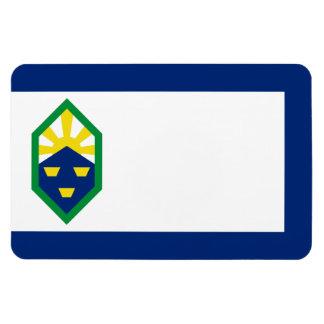 Colorado City Flag Rectangular Photo Magnet