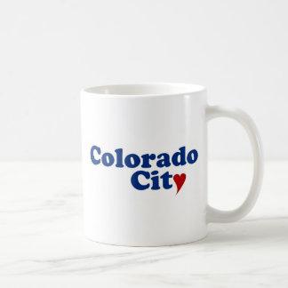 Colorado City with Heart Coffee Mug