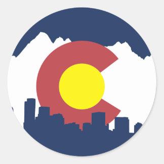 Colorado Classic Round Sticker