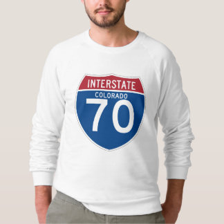 Colorado CO I-70 Interstate Highway Shield - Shirt