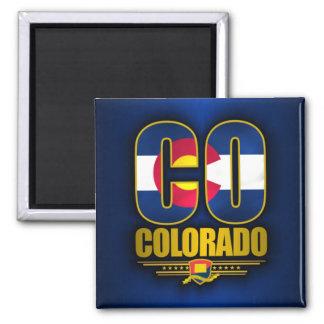 Colorado (CO) Imán Cuadrado