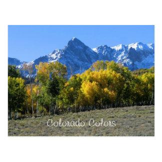 Colorado Colors Postcard