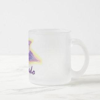 Colorado Columbine frosted coffee mug