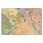Colorado compuesto papel de seda