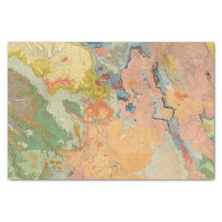 Colorado compuesto papel de seda pequeño