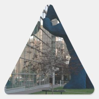 Colorado convention center triangle sticker