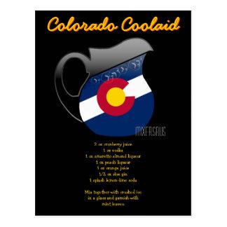 Colorado Coolaid Drink Recipe Post Cards