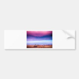 Colorado Country Intense Morning View Car Bumper Sticker