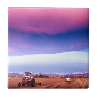 Colorado Country Intense Morning View Tiles