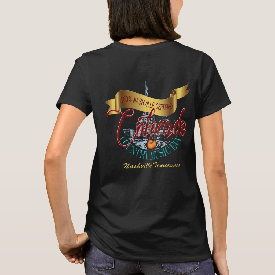 Colorado Country Music Fan Back Print Shirt - Best Selling Long-Sleeve Street Fashion Shirt Designs