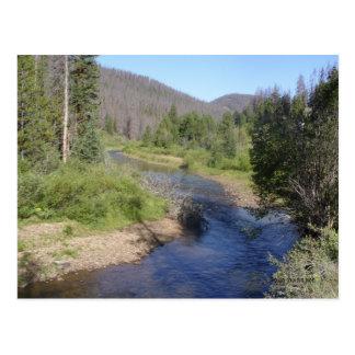 Colorado creek postcard