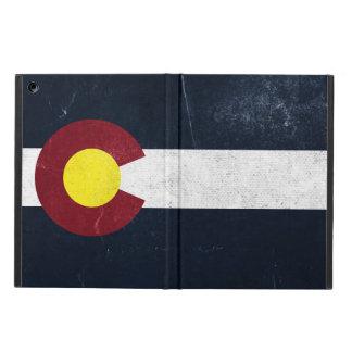 Colorado Dark Grunge Flag Cover For iPad Air
