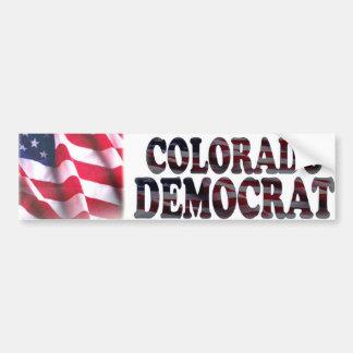 Colorado Democrat Bumper Sticker