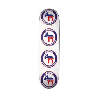 Colorado Democratic Party Skate Board Decks