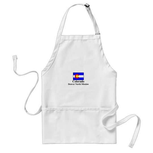 Colorado Denver North Mission Apron