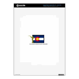 COLORADO DENVER SOUTH MISSION LDS CTR iPad 3 SKIN