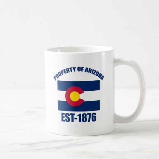 Colorado  design coffee mug