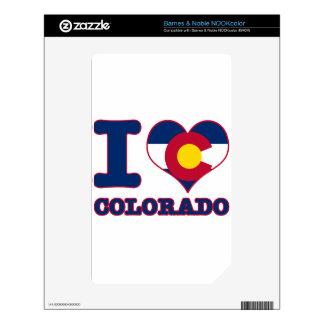 Colorado Design Skin For NOOK Color