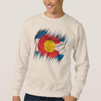 Colorado destrozado sudadera con capucha