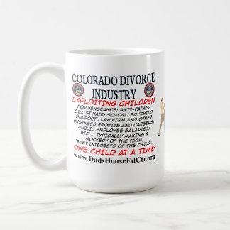 Colorado Divorce Industry. Mugs