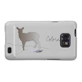 Colorado Doe in Silhouette Samsung Galaxy S Case