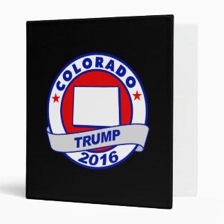 colorado Donald Trump 2016.png Vinyl Binders