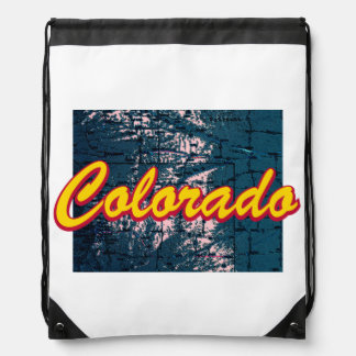 Colorado Drawstring Bag