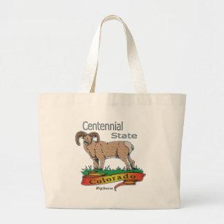 Colorado el Bighorn centenario del estado Bolsas Lienzo