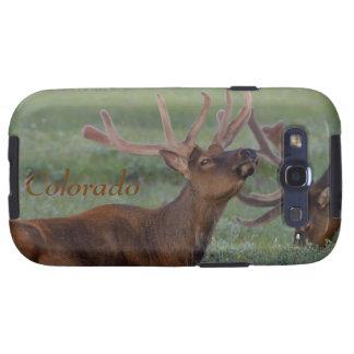 Colorado Elk in Meadow Samsung Galaxy S Case