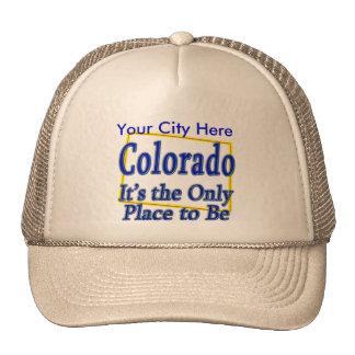 Colorado es el único lugar a ser gorros bordados