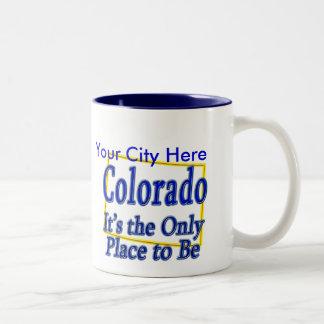Colorado es el único lugar a ser tazas