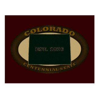 Colorado Est. 1876 Postcard