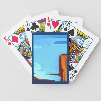 Colorado Falls Artistic Playing Cards