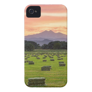 Colorado_Farmers_Burning_Sunset iPhone 4 Cover