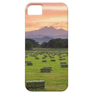Colorado_Farmers_Burning_Sunset iPhone SE/5/5s Case