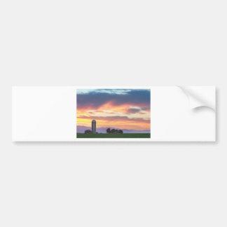Colorado Farmers Sunset Bumper Sticker