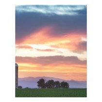 Colorado Farmers Sunset Letterhead