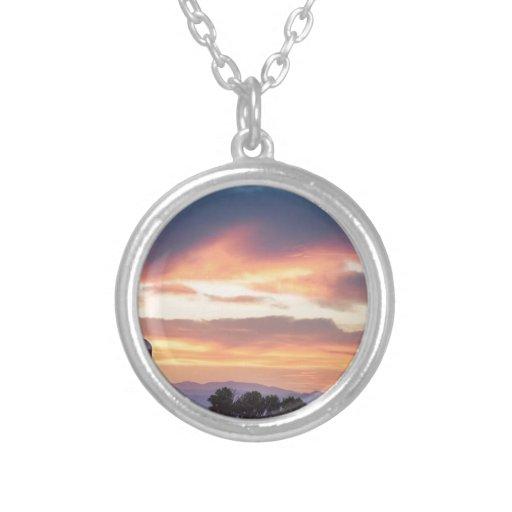 Colorado Farmers Sunset Necklace