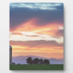Colorado Farmers Sunset Plaque