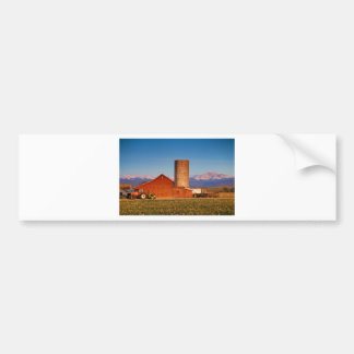 Colorado Farming Car Bumper Sticker