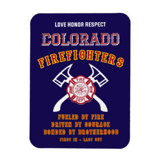 Colorado Firefighters magnet