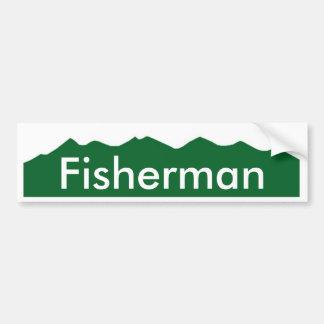 colorado Fisherman Car Bumper Sticker