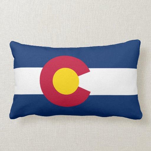 Colorado Flag American MoJo Pillow